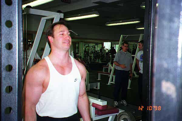 Craig doing straight bar curl